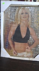 Britney Spears framed poster in Bellevue, Nebraska