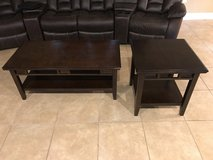 Coffee table w/ 2 end tables in Leesville, Louisiana