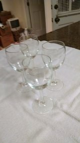 Water glasses in Cherry Point, North Carolina