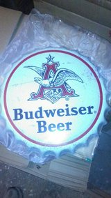 New Tin Budwiser Cap in Hopkinsville, Kentucky