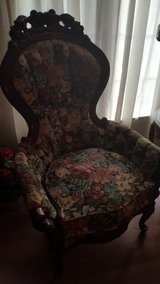 2 Antique Reproduction Victorian Chairs w/ottoman in Elizabethtown, Kentucky