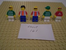 5 Lego Sports Minifigs Group 161 in Sandwich, Illinois