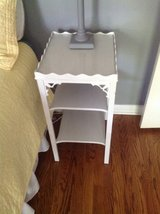 Pair of painted end tables in Oswego, Illinois