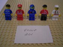 5 Lego Racers Minifigs Group 201 in Aurora, Illinois