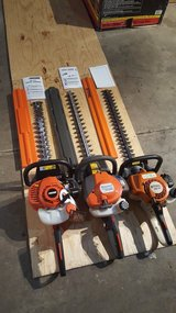 "Headge trimmers. Echo .Stihl. Husqvarna 24"" in New Lenox, Illinois"