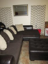 Ashley Furniture Sectional with ottoman in Oceanside, California