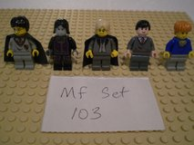 5 Lego Harry Potter Minifigs Group 103 in Sandwich, Illinois