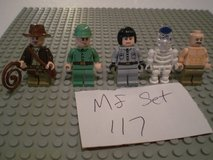 5 Lego Indiana Jones Minifigs Group 117 in Aurora, Illinois