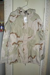 new Desert cold weather parka in Fort Campbell, Kentucky