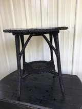 VINTAGE WICKER TABLE in Westmont, Illinois