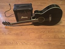 Ibanez Acoustic/Electric Guitar with Amp in Warner Robins, Georgia