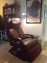leather human touch massage chair in Westmont, Illinois