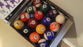 Billiard Balls in Joliet, Illinois