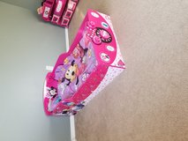 Beautiful Minnie Mouse toddler bed with mattress and bedding! in Fort Lewis, Washington