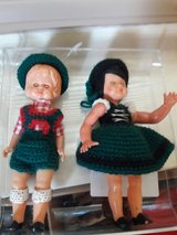 Lot-of-2-VINTAGE-1970-039-s-GALBA-Doll-MADE-IN-ITALY-Sleepy-eyes. in Converse, Texas