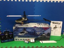 RC helicopter Blade CP Pro. Fully Aerobatic. Extra battery and blades in Cherry Point, North Carolina