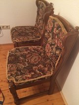 3 german chairs in Fort Riley, Kansas