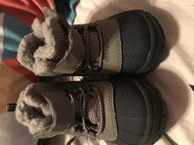 Winter boots in Fort Campbell, Kentucky