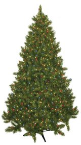 7.5' Christmas tree in Fort Drum, New York