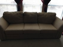 Couch with queen fold out bed in Lackland AFB, Texas