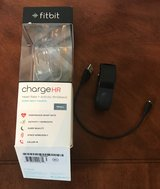 Fitbit charge HR Heart Rate activity tracker watch Black small in Warner Robins, Georgia