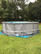 Intex Above Ground Pool in Valdosta, Georgia