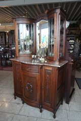 beautiful display cabinet with facetted glass in Baumholder, GE