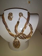 Gold plated, necklace,Bracelet,Earrings and Ring in 29 Palms, California