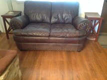 Leather Loveseat in Ruidoso, New Mexico