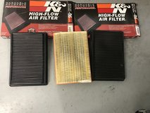 Dodge Ram 1500 K&N Air Filters x2 in The Woodlands, Texas
