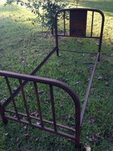 Farmhouse bed/metal 1950's twin in Houston, Texas