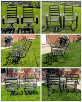 Patio Chairs-Set of 4 in Plainfield, Illinois