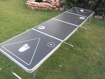 Go Pong 8' folding lightweight beer pong table in Fort Bliss, Texas