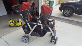 Stroller, front and back in Vista, California