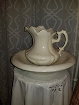 Victorian style pitcher and Basin Set in Warner Robins, Georgia