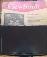 24 Inch Viewsonic Monitor in Okinawa, Japan