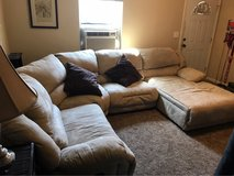 Sectional couch with chaise in Travis AFB, California
