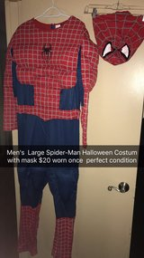 Men's  Spider-Man Halloween costume in Hopkinsville, Kentucky