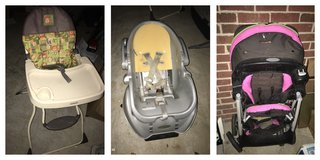 stroller and car seat in Warner Robins, Georgia