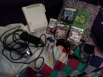XBOX 360 Console w wireless controller 10GB external drive, wifi device and games! in Fort Campbell, Kentucky