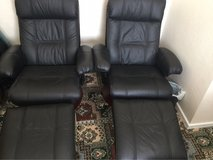 Leather Swivel and recline chairs in Lakenheath, UK