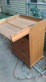 Dresser changing table in Manhattan, Kansas
