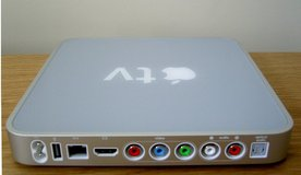 Apple TV Gen 1 w/ HDMI cable and upgraded Remote in Ramstein, Germany