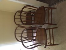 Set of 4 Antique bentwood chairs in Fort Belvoir, Virginia