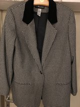 Black and White (Houndstooth design) Jacket in Ramstein, Germany