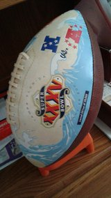 Superbowl 35 Football in Tampa, Florida