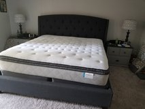 king size Posturepedic Firm mattress set with box springs in Goldsboro, North Carolina