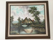 Cottage on Pond by Horst Hoppmam in Westmont, Illinois