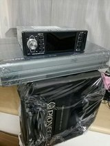 """10"""" Pioneer Band Pass Subwoofer box & Alpine V12 Amp in Okinawa, Japan"""