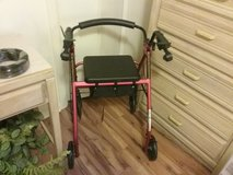 Rolling Walker like new with storage in Cleveland, Texas